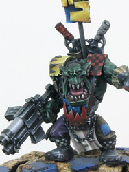 Ork Warboss with Big Choppa Ork Warboss with Big Choppa