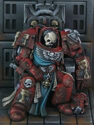 Dead Terminator on Throne Dead Terminator on Throne