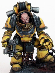 Imperial Fists Legion Centurion Imperial Fists Legion Centurion