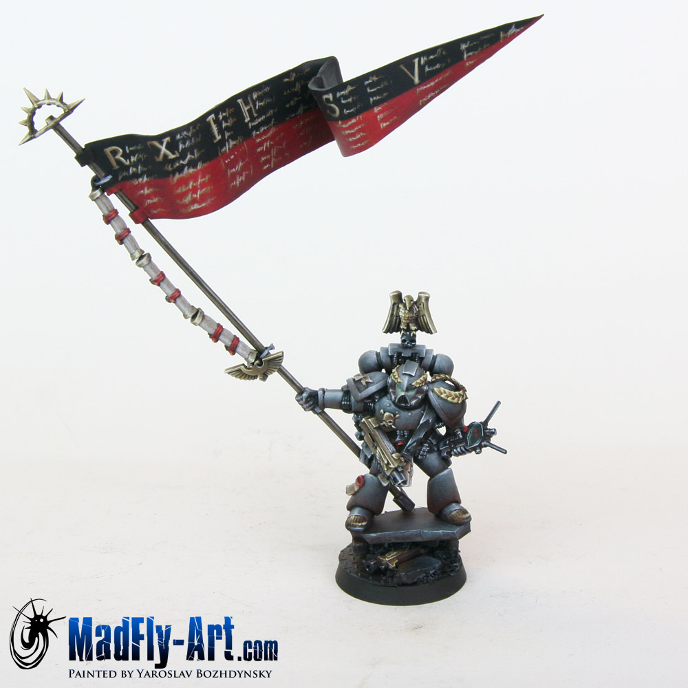 Space Marine Standard Bearer