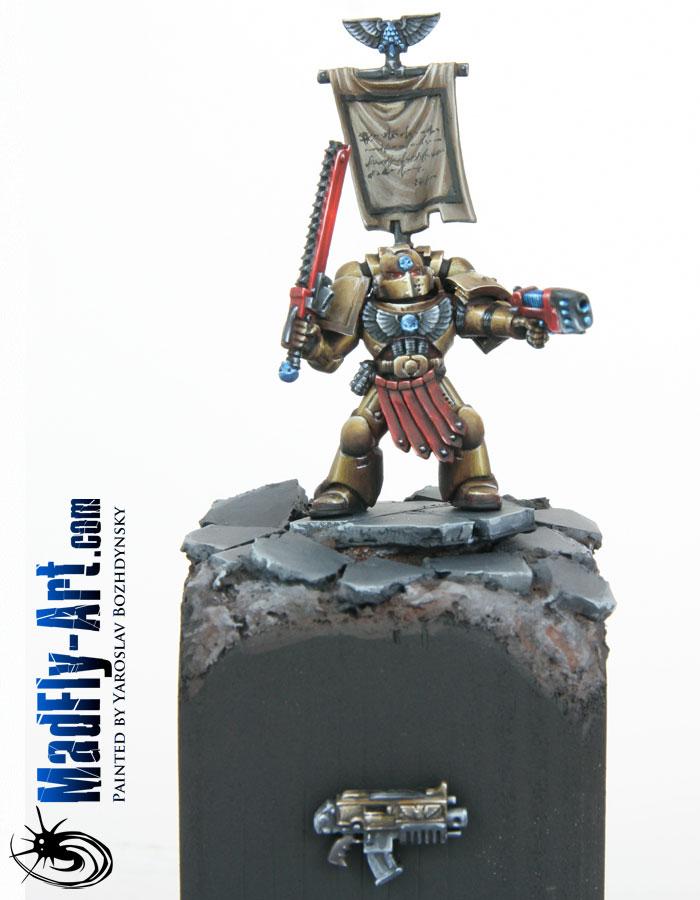 Space Marine Veteran Sergeant