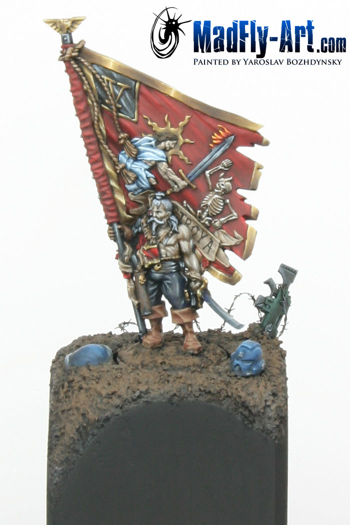 Vostroyan Banner Bearer