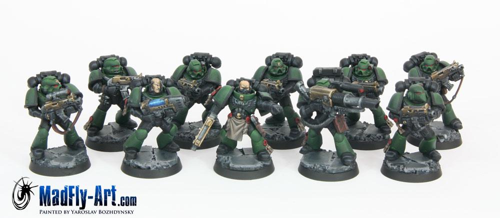 Disciples Of Caliban Tactical Squad