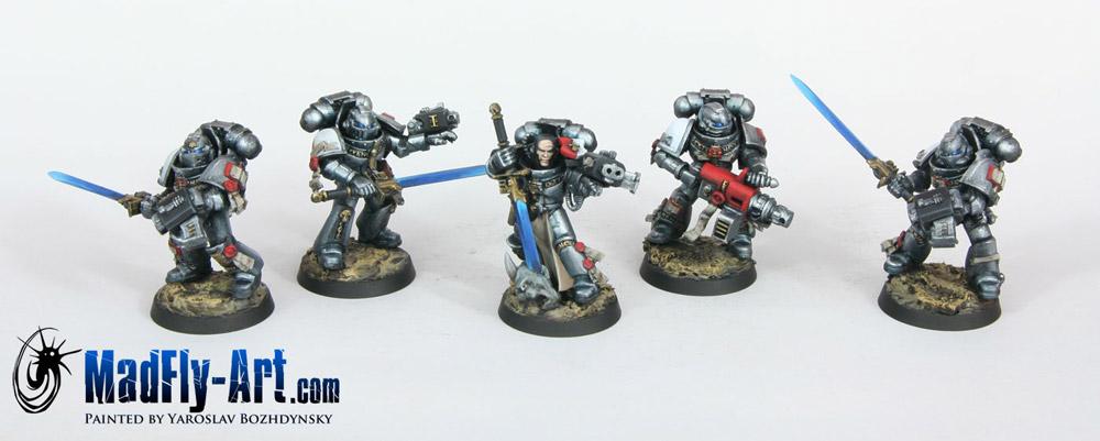 Grey Knight Strike Squads