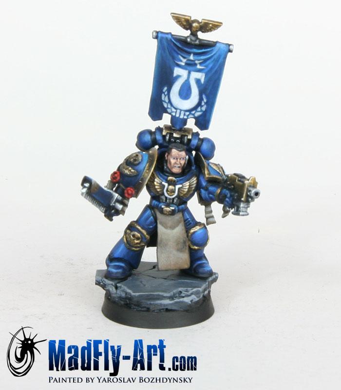 Ultramarine Captain Titus