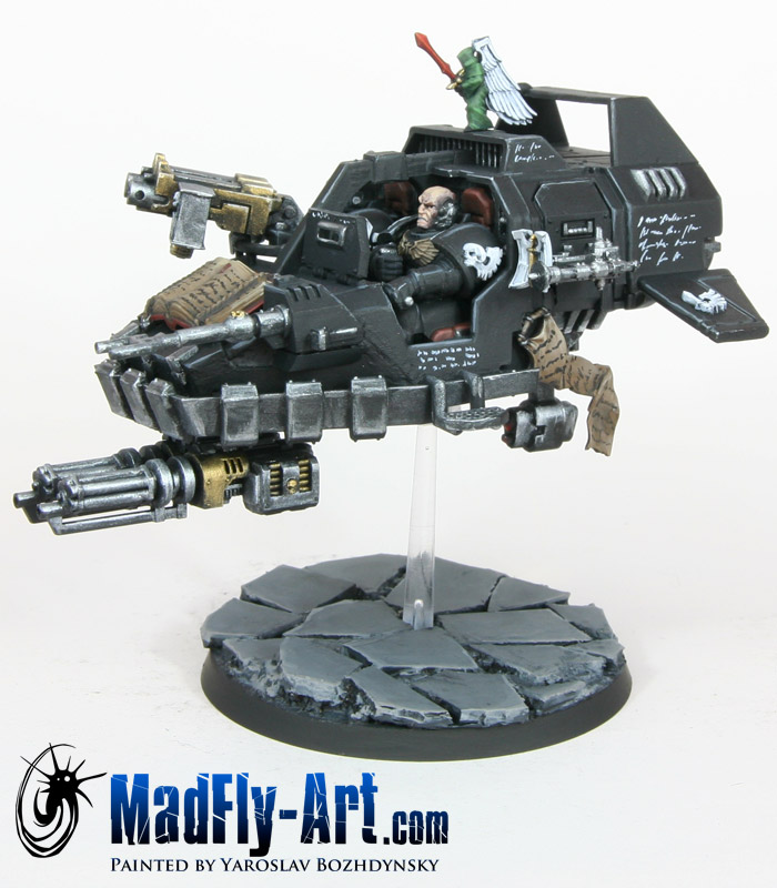 Master of the Ravenwing Land Speeder