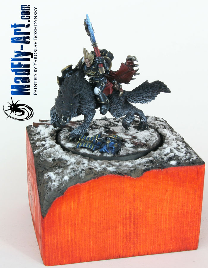 Wolf Lord on Thunderwolf (Black Style)