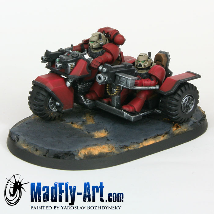 Blood Angels Attack Bike Squadron 2