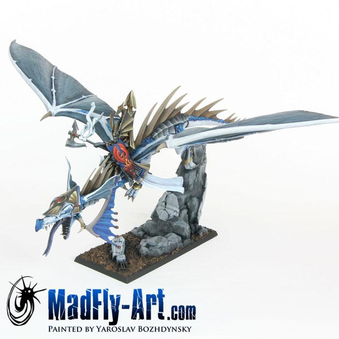 High Elf Lord on Dragon