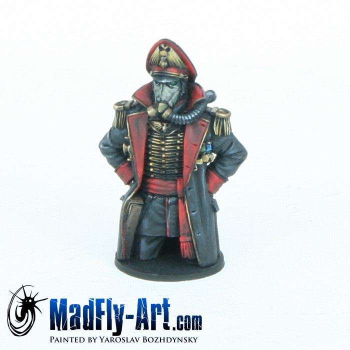 Death Korps of Krieg Commissar Tank Commander