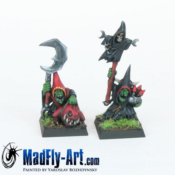 Night Goblin Big Boss and Night Goblin Shaman