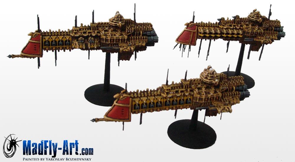 Battlefleet Gothic Imperial Cruisers