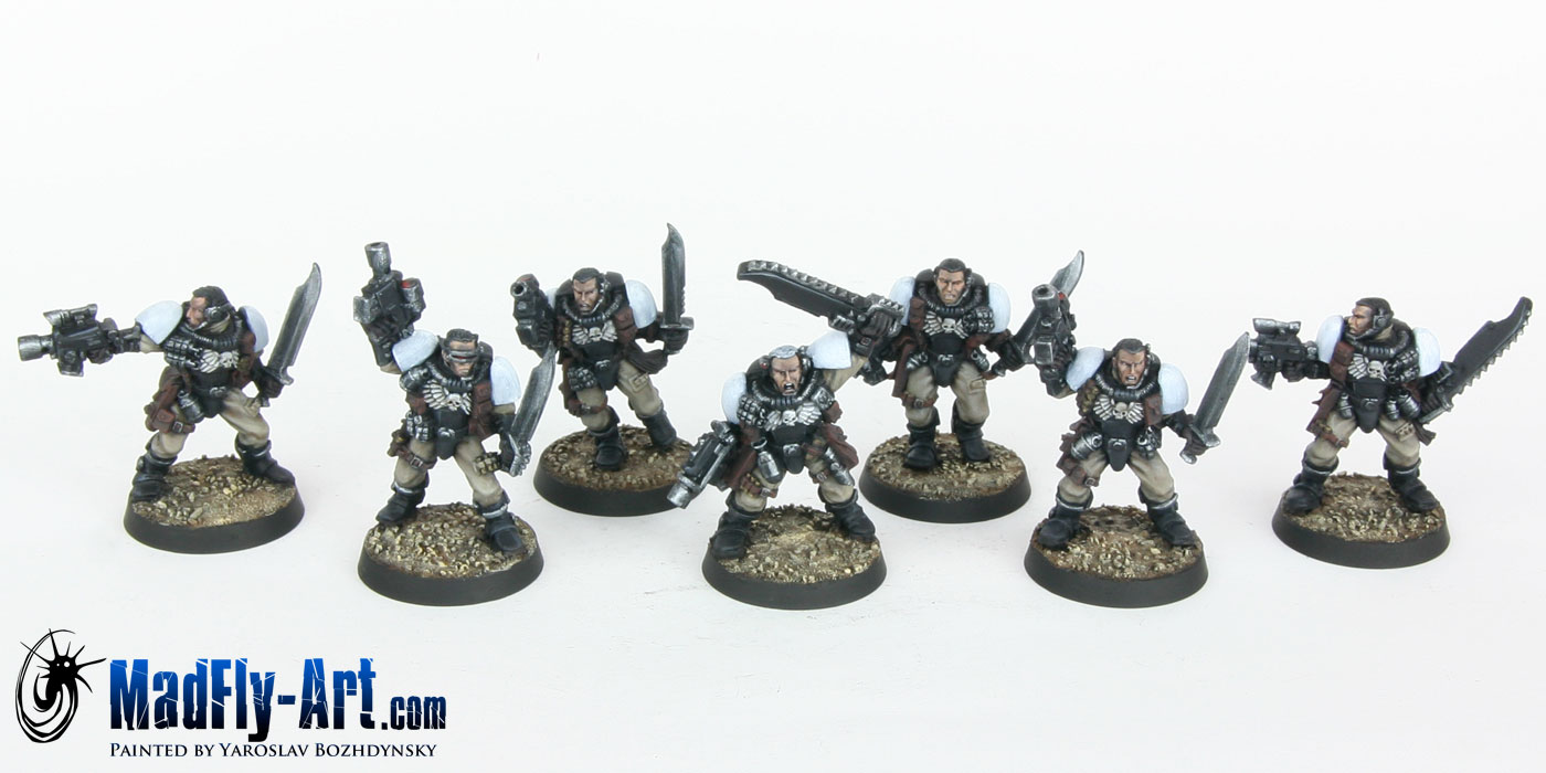 Black Templars Scout Squad