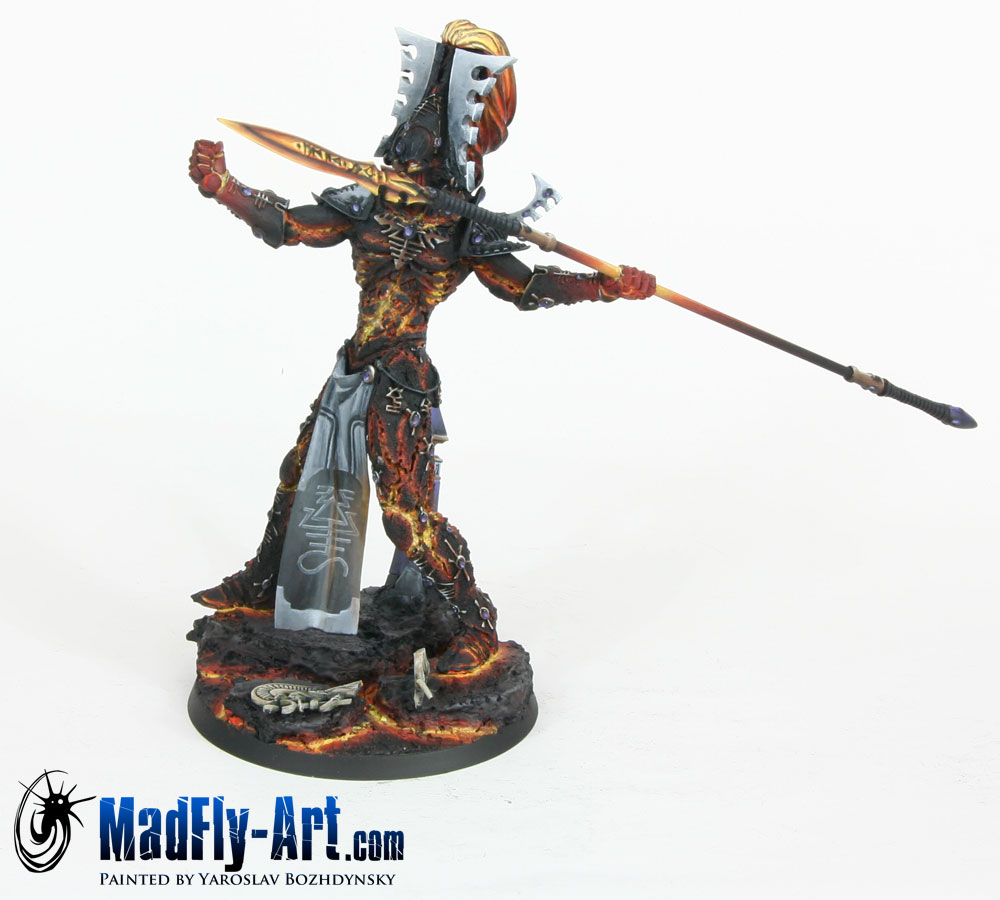 Eldar Avatar with Spear