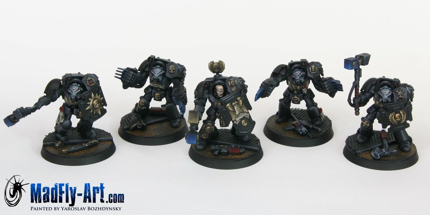Carcharodons Assault Terminators
