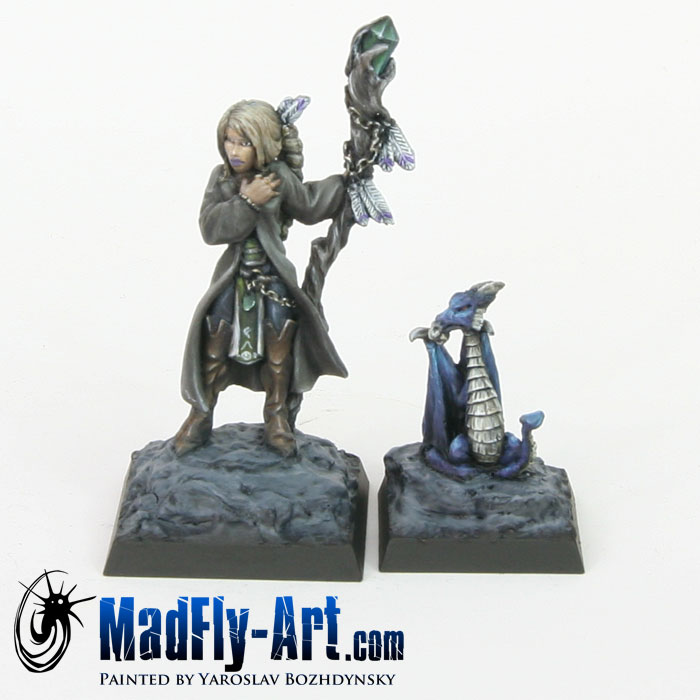 Sharyn, Female Wizard