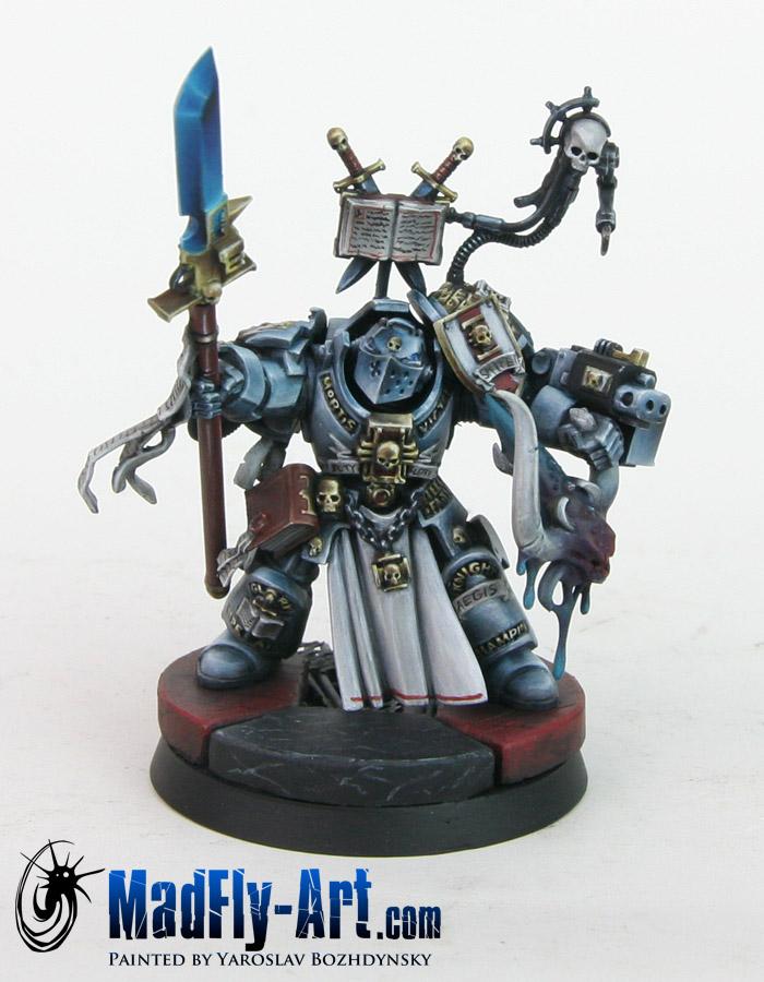 Grey Knights Paladin Justicar