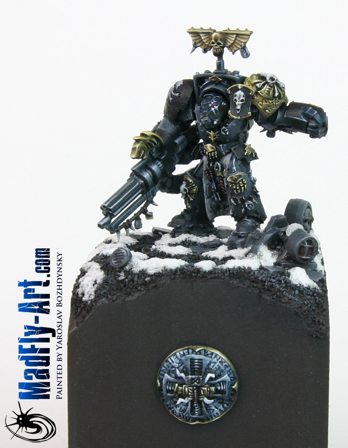 Wolf Guard Terminator with Assault Cannon
