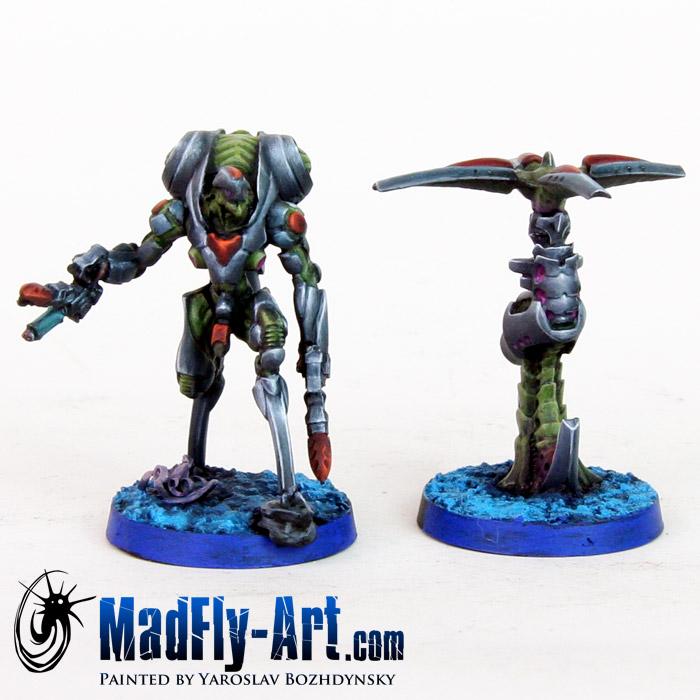 Ikadron Batroid and Imetron