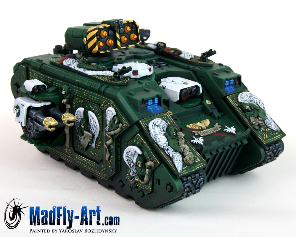 Dark Angels Land Raider Helios