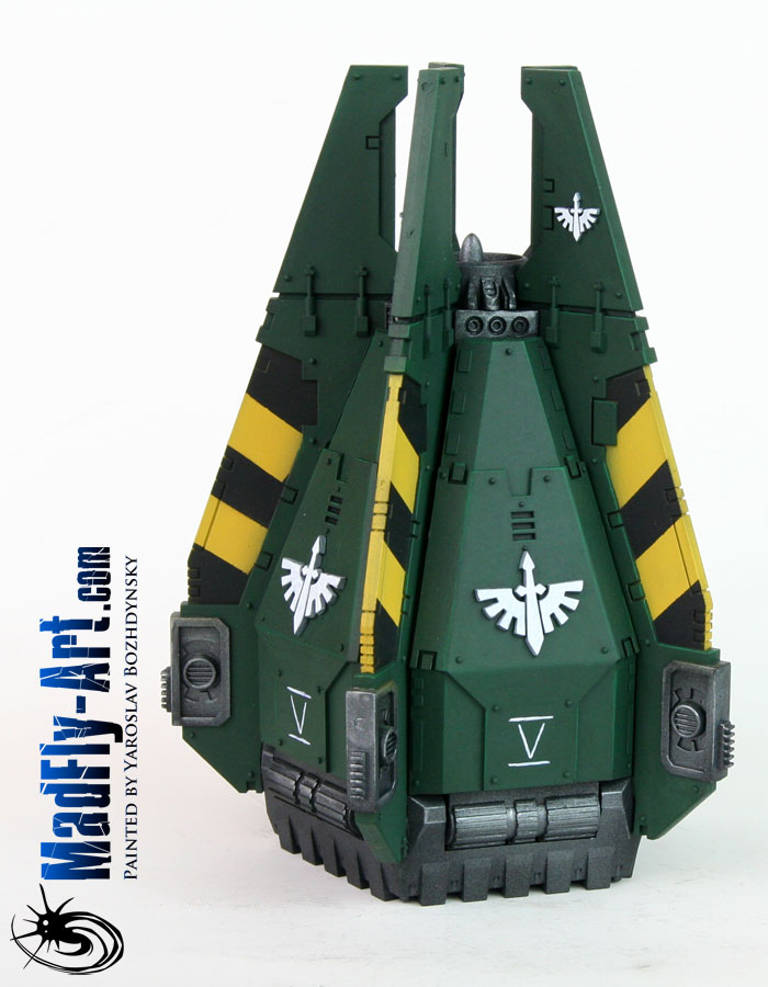 Dark Angels Drop Pod