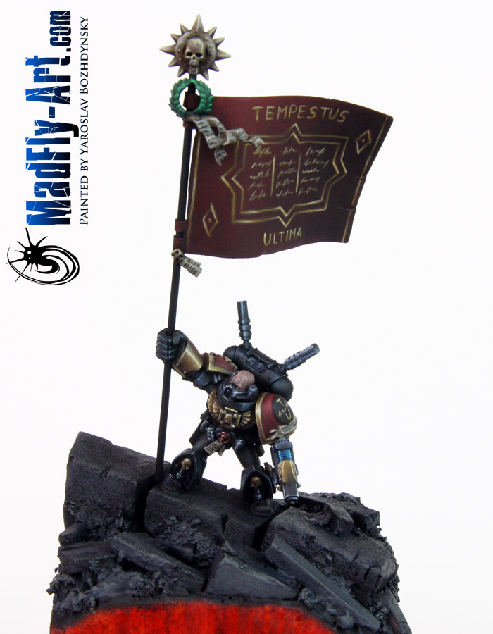 Space Marine Standard Bearer