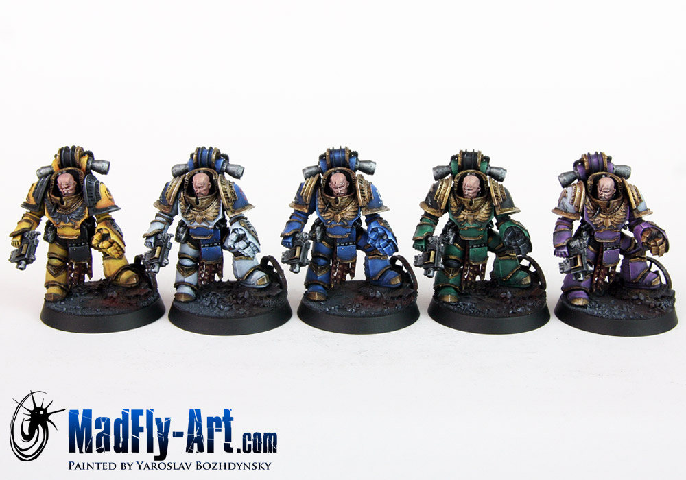 Space Marine Legion Centurions