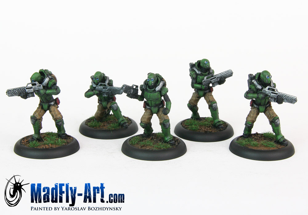 Light Infantry with Airborne Pack