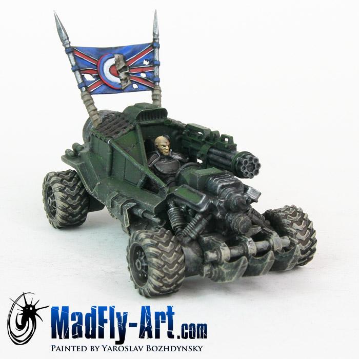 Hedgehog Necromower ATV