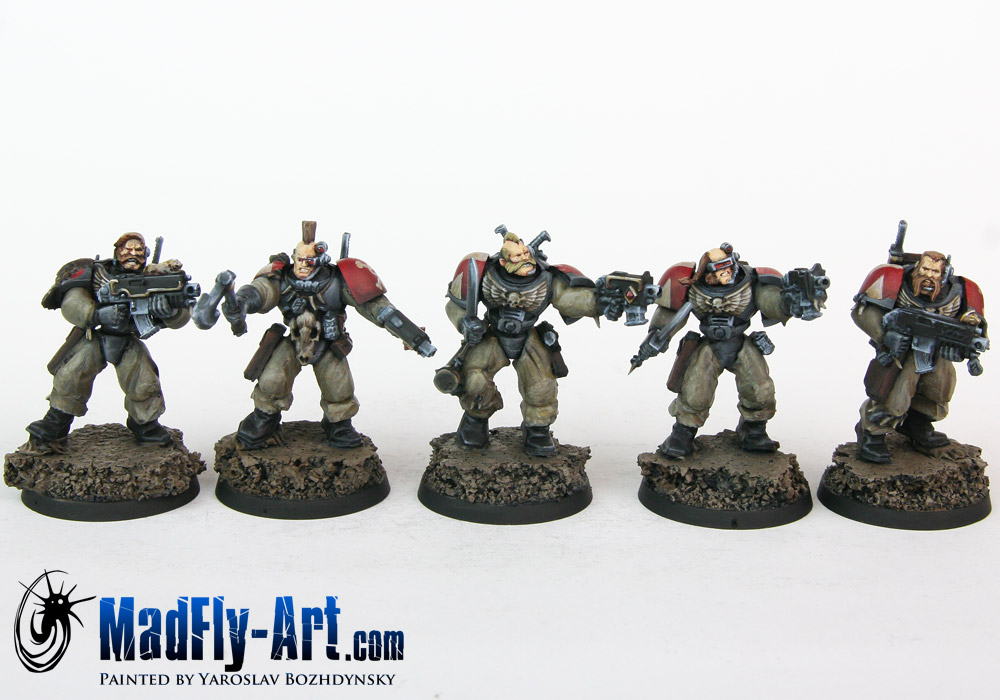 Space Wolves Scout Squads