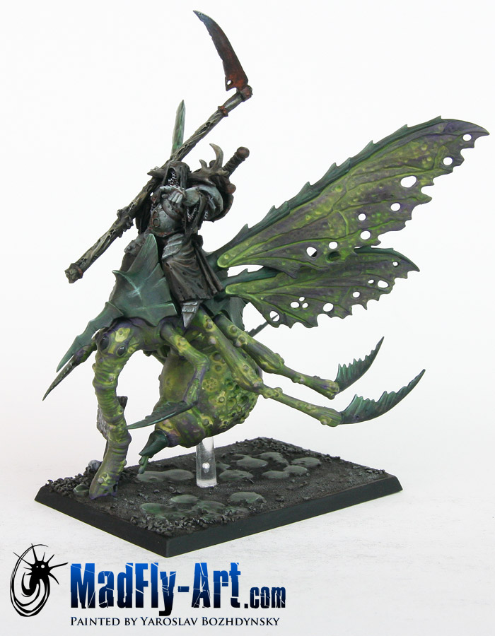 Nurgle Lord on Plague Drone