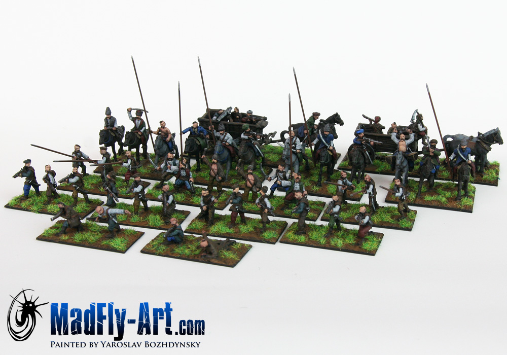 Cossacks Skirmish Set