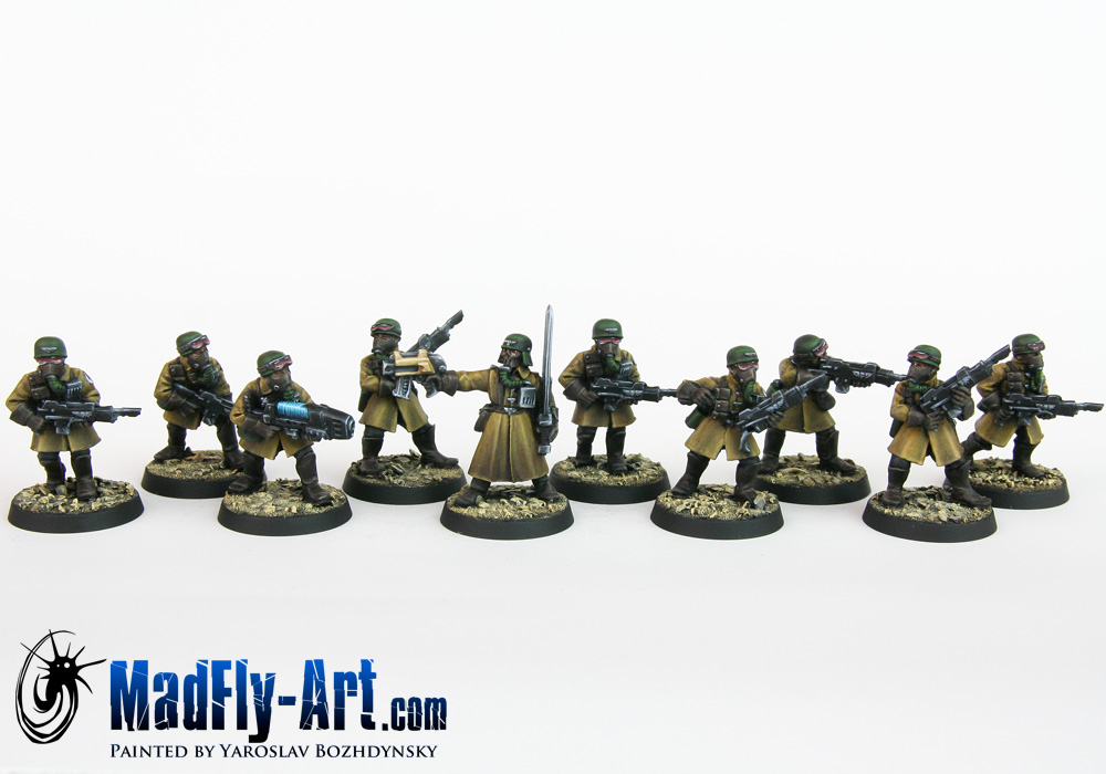 Steel Legion Infantry Squad 1
