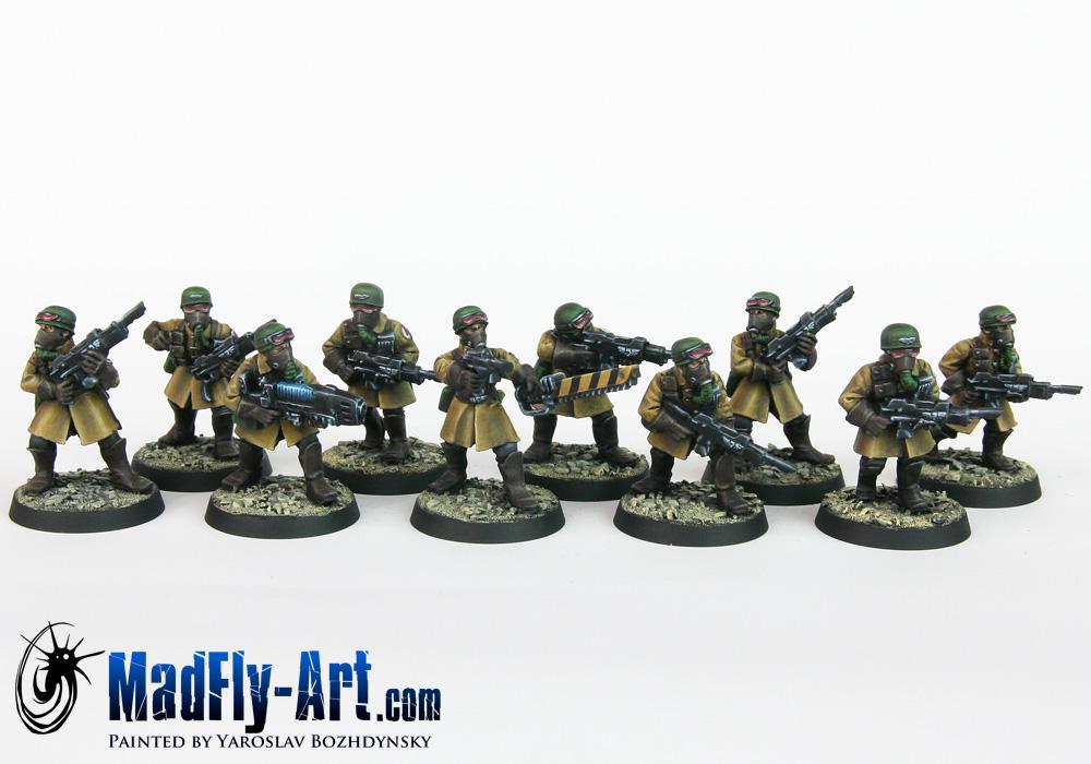 Steel Legion Infantry Squad 2