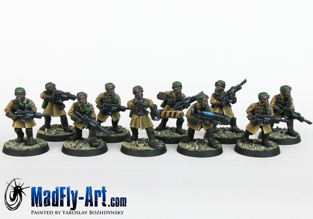 Steel Legion Infantry Squad 4