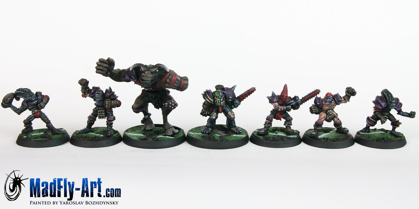 Khorne Blood Bowl Team