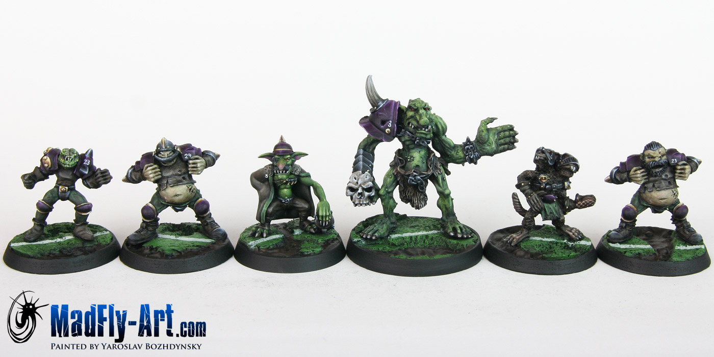 Nurgle Blood Bowl Team