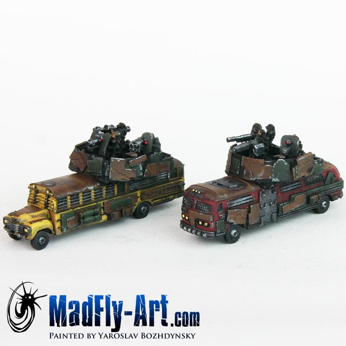 Battle Buses