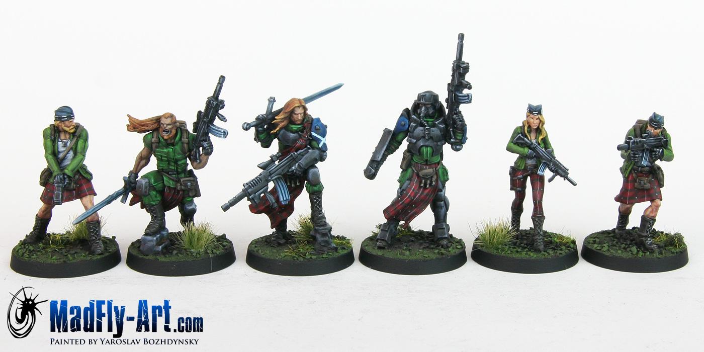 Caledonian Highlander Army