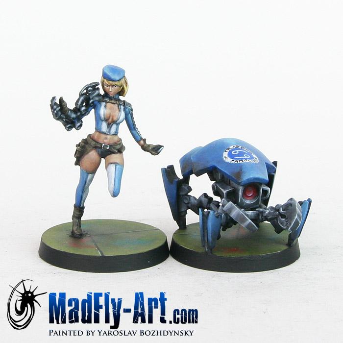 Tech Bee & Crabbot