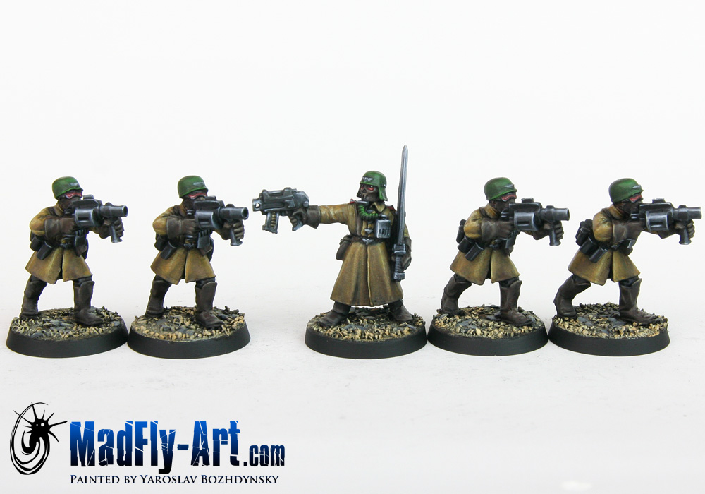 Steel Legion Special Weapons Squad 1