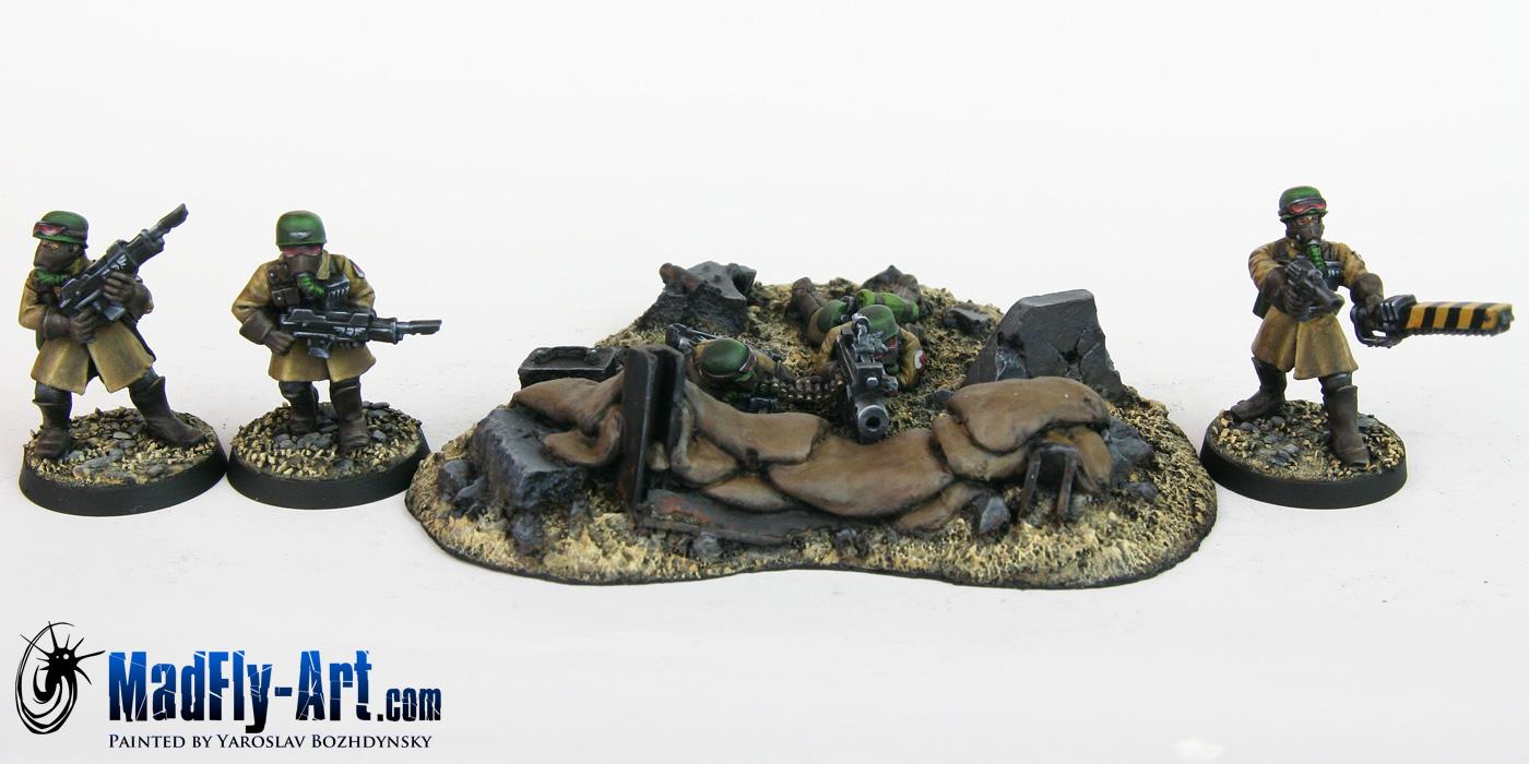 Steel Legion Infantry Squad 5