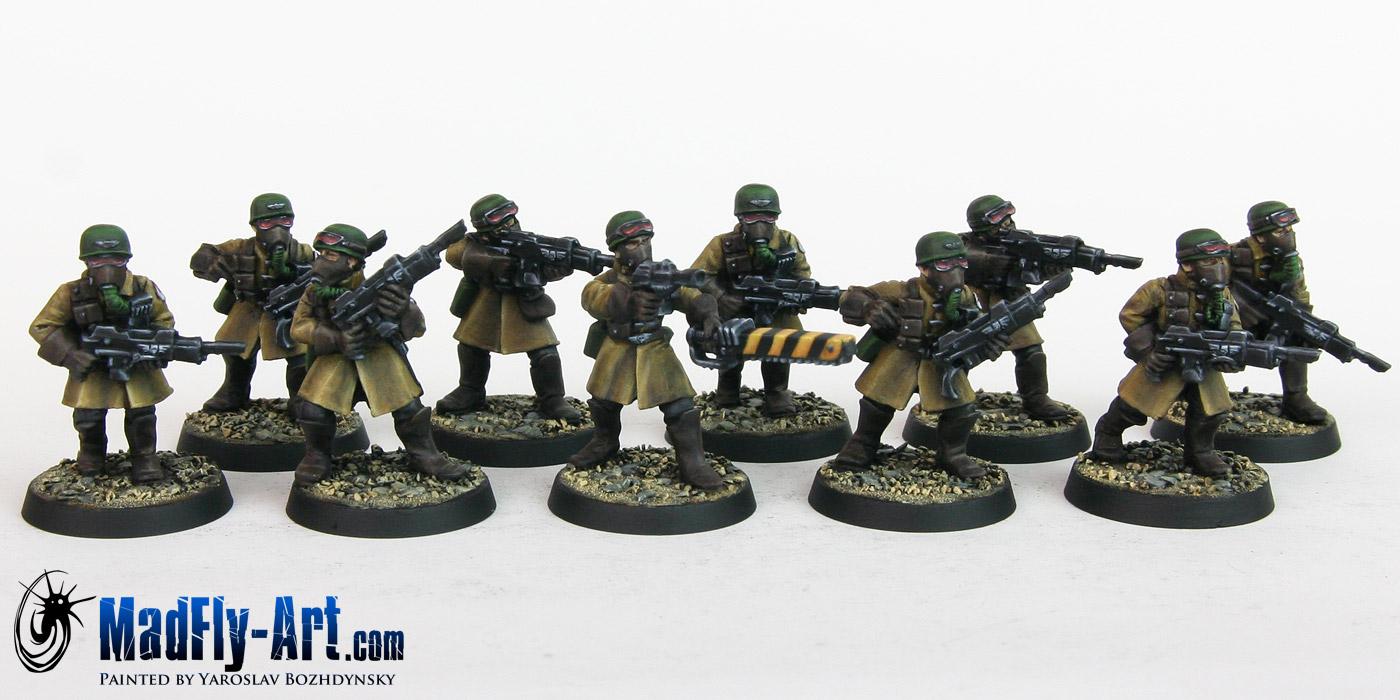 Steel Legion Infantry Squad 6
