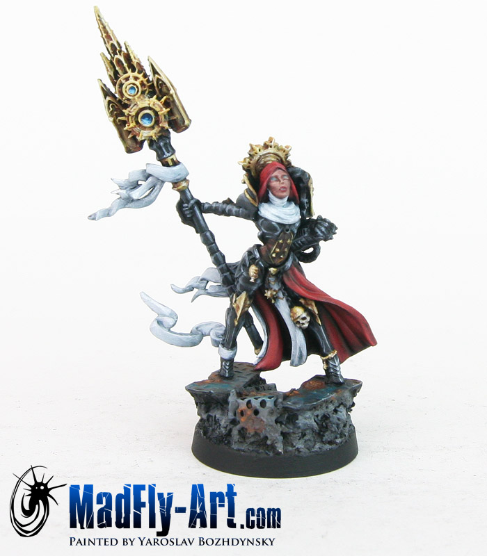 Sol-Sarya, Priestess of the Sun of Thorns