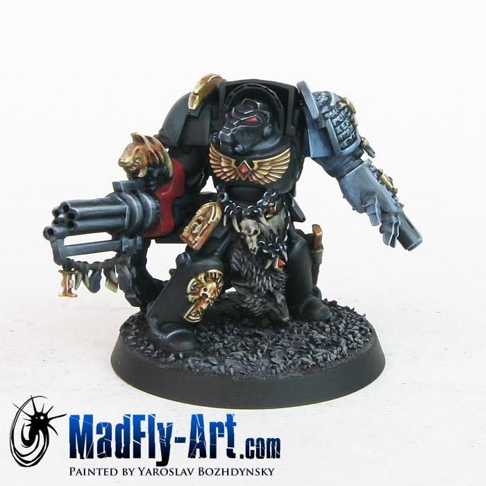 Deathwatch Terminator with Assault Cannon