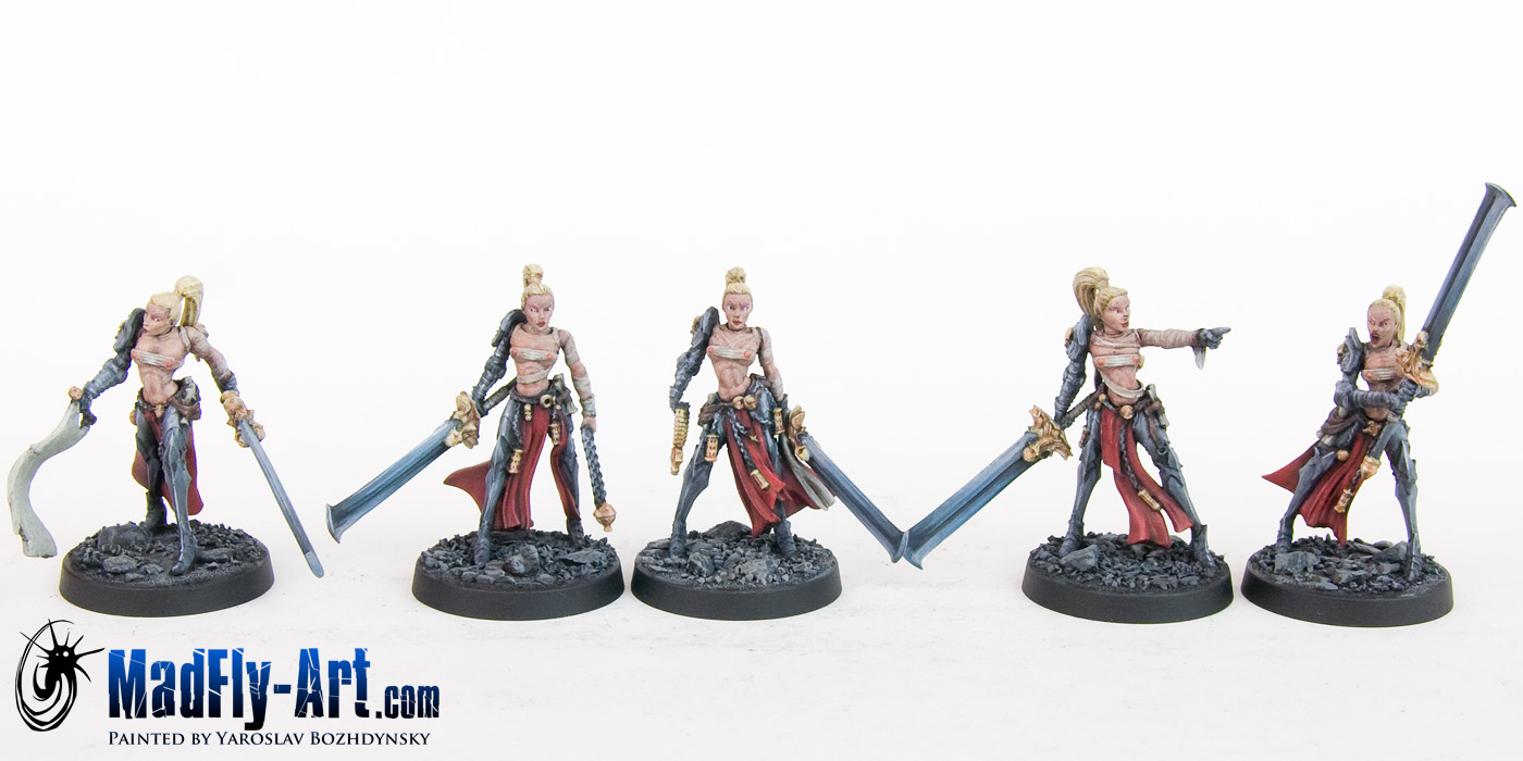 Blade Maidens Troops