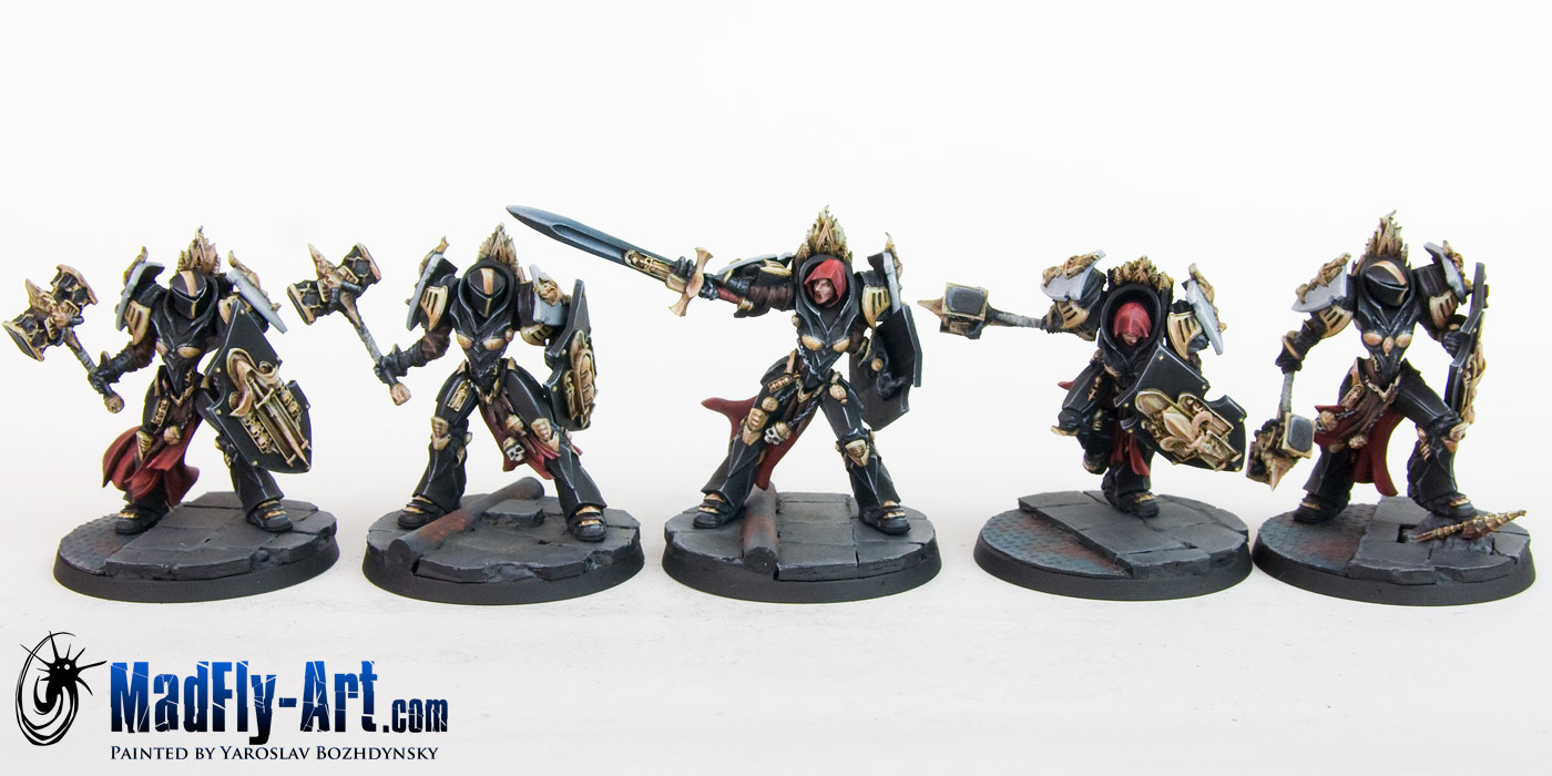 Knights of the Chalice Troops