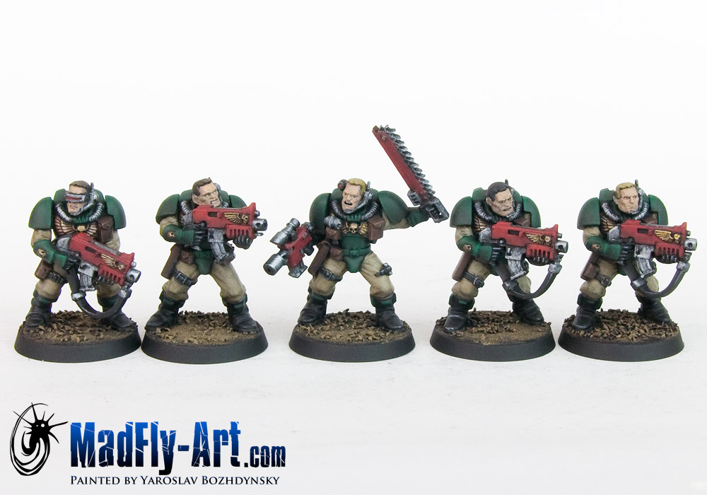 Dark Angels Scouts
