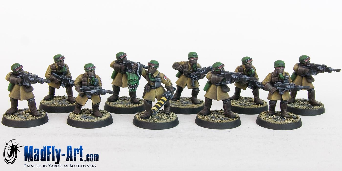 Steel Legion Infantry Squad 8