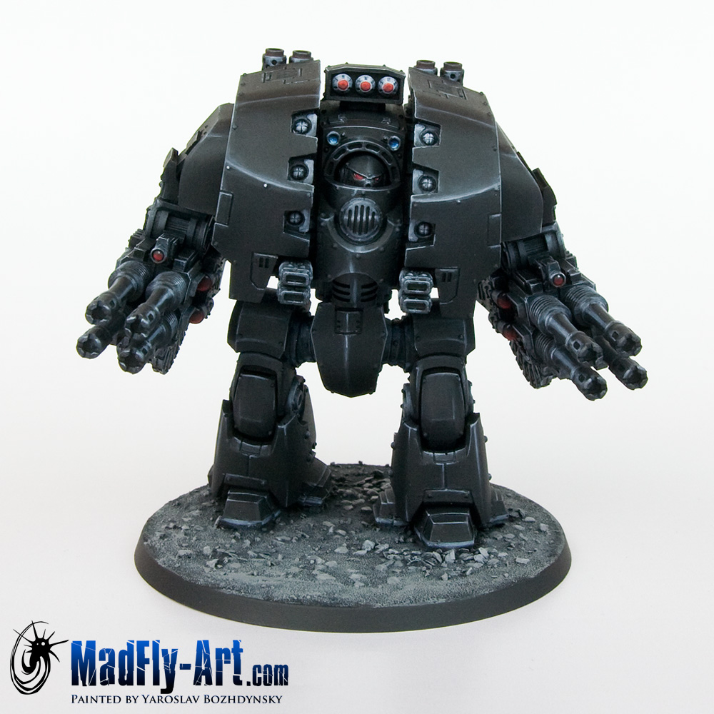 Leviathan Dreadnought with Storm Cannons